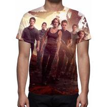 Camisa, Camiseta Filme A Série Divergente Convergente Mod 03