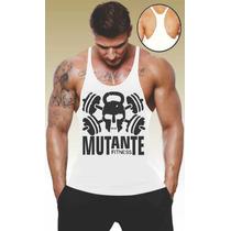 Camisa Regata Academia Cavada Bodybuild Animal Universal Top