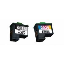 Kit Cartucho Compativel Lexmark 16/17 + 26/27 Novo Importado