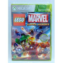 Lego Marvel Super Heroes - Xbox 360 - Novo - Lacrado