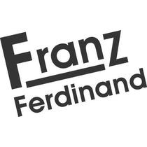 Adesivo Notebook Punk Rock Heavy Metal Skull Franz Ferdinand