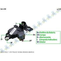 Regulador Voltagem Ford Fiesta 1.6 06/... - Gauss
