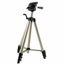 Tripé Profissional Câmera Fotográfica Pedestal Suporte Foto