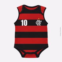 Body Infantil Flamengo Malha Oficial