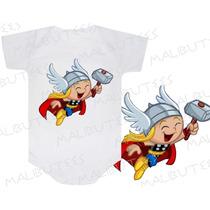 Body Thor Herois Infantil Personalizado Personagens