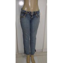 Calça Jeans Fem. Marca Loony 38 C/ Strech Semi Nova