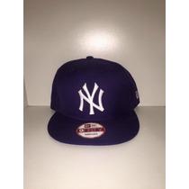 Boné Snapback New Era Ny Yankees Roxo