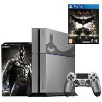 Playstation 500gb Ps4 Batman Arkham Knight Edição Limitada