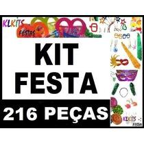 Kit Festa Balada Casamento Formatura 150 Convidados + Brinde