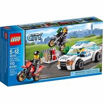 Lego City Perseguição De Polícia Em Alta Velocidade - 60042