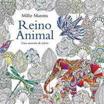 Livro Reino Animal - Livro De Colorir - Antiestresse
