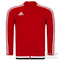 Jaqueta Adidas Tiro 15 Vermelha - Futfanatics