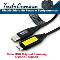 Cabo Usb Suc-c3 Samsung Sl50 Pl10 Pl120 Pl20 Pl150 Pl51 Pl50