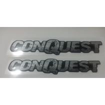 Kit 2 Conquest Resinados Montana Conquest + Brinde