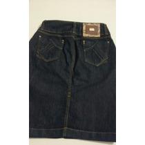 Saia Evangélica Jeans Blue Black Vecchi 1616