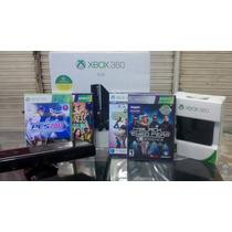 Xbox 360 Gta 5 500gb Kinect Brinde Leia A Descrição!