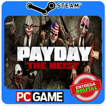Payday: The Heist Pc Steam Cd-key Global Envio Imediato