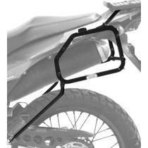 Suporte Baúleto Lateral - Scam Honda Xre 300 Preto