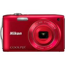 Câmera Digital S3300 16mp Vermelha