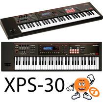 Teclado Roland Xps-30 + Fonte C/ Nota Fiscal E Garantia