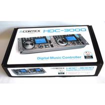 Controladora Dj Cortex Controlador De Audio P/ Dj Hdc-3000