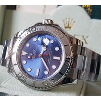 Relógio Eta Modelo Yacht-master Dial Azul Noob Best Edition