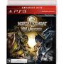 Jogo Ps3 Mortal Kombat Vs Dc Universe