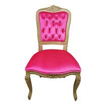 Cadeira Luis Xv Sem Braços - Wood Prime