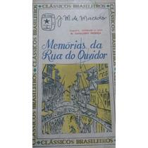1512 Livro J M De Macedo: Memórias Da Rua Do Ouvidor