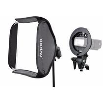 Softbox 60x60cm Para Flash Speedlight Godox Greika