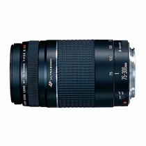 Lente Canon Ef 75-300mm F4-5.6 Iii Usm