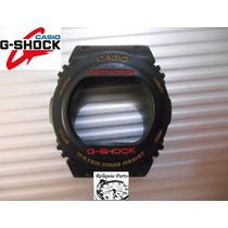 Capa Bezel P/ G-shock Dw-5400 Dw-5700 Especial Série Ouro