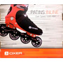 Patins Profissional Oxer Nº 43 Speed 7000 - Barato Original