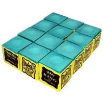Giz Triangle Verde 12 Pç Para Taco De Bilhar Sinuca (10920)