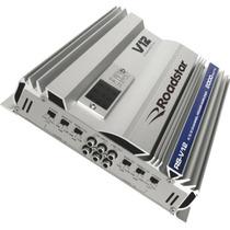 Amplificador Mosfet Ab 2000w Rsv12 Prata Roadstar