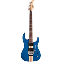 Ritmus : Eagle Egt61 : Guitarra Com Micro Afinação Cor Azul