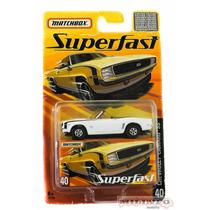 Miniatura Matchbox Superfast Camaro Ss - Mattel