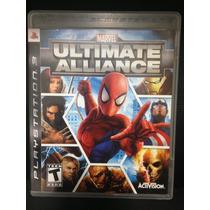 Marvel Ultimate Alliance Ps3 - Mídia Física