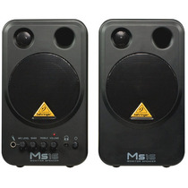 Ms16 Monitor Behringer Ms-16 Ativo Par Woofer 16 Watts Novo