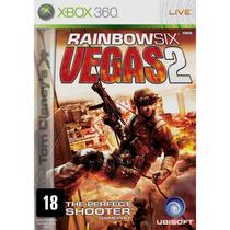 Jogo Xbox 360 Rainbow Six Vegas 2