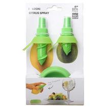 Borrifador/ Pulverizador Spray Limão P/ Saladas 3 Peças