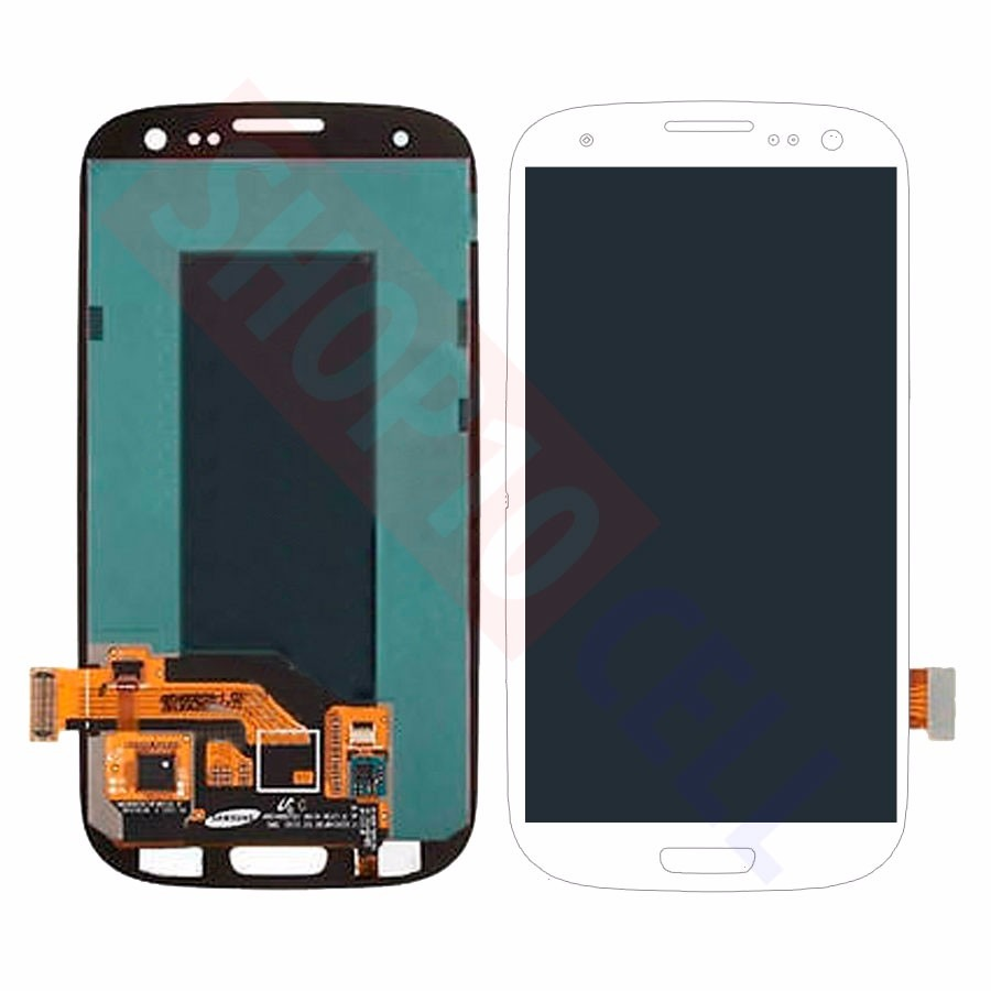 Tela Display Touch Screen Galaxy S3 Neo Duos I9300i Branco