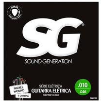 Encordoamento P/ Guitarra Sg 010 + 1ª Mi Extra + Palheta