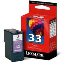 Cartucho Original Lexmark 33 Color 18c0033 P315 X3300 X8300