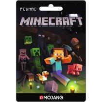 Jogo Minecraft Para Pc Ou Mac - Cartão De Ativação Original