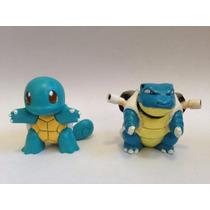 Pokemon Squirtle Blastoise Takara Tomy Boneco Original
