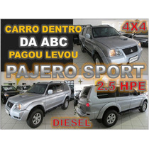 Pajero Sport 2.5 Hpe 4x4 Turbo Intercooler Ano 2009 Financio