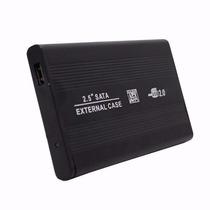 Case Gaveta Hd Sata Externo 2.5 Usb Notebook Tv Pc + Capa