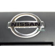 Emblema Maçaneta Tampa Traseira Nissan Frontier 2003 A 2007