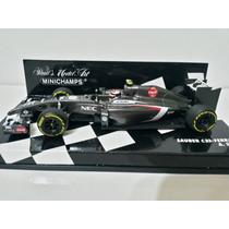1/43 Minichamps F1 Sauber C33 Ferrari Sutil 2014 Formula 1